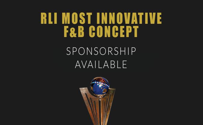 RLI Most Innovative F&B Concept